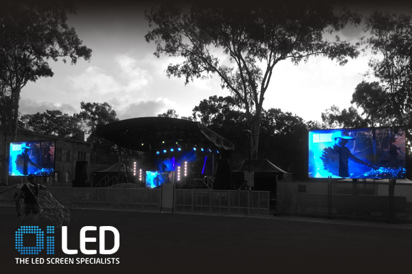 Oi LED Screen Oi13 Trailer Screen Queensland University