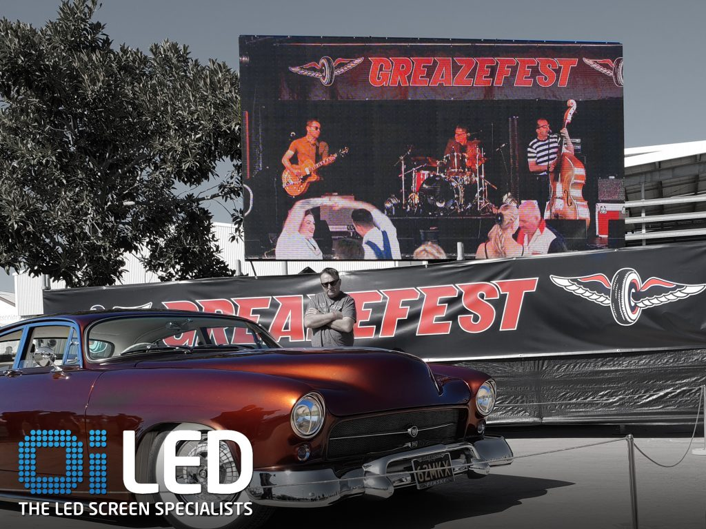 Greazefest 1 LED Screens