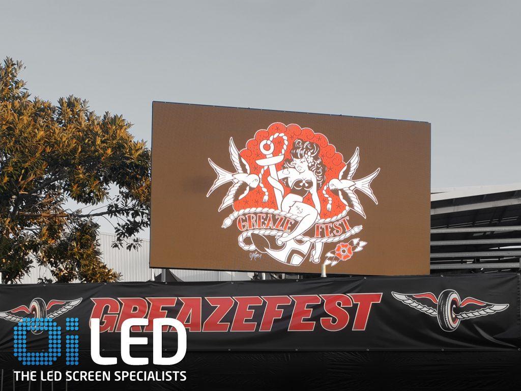 Greazefest 2 LED Screens