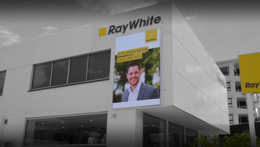 Ray White Billboard Install 1