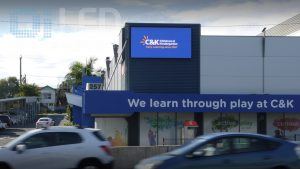 C and K Childcare Kedron Wall Sign