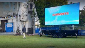 Oi13 Trailer Screen at Gold Coast Tri