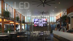 Oi P4 Truss Screen at Shafston Hotel