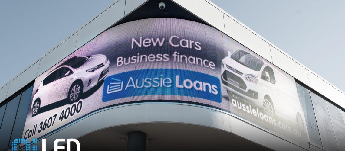 Aussie Loans Billboard Install