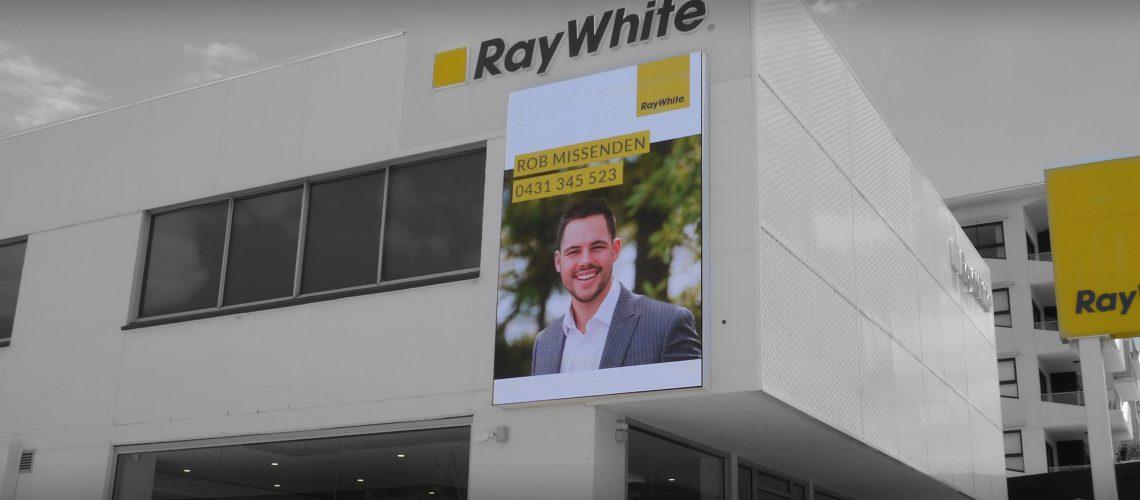 Ray White Billboard Install 1